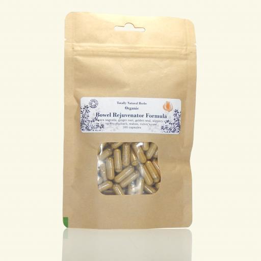 Bowel Rejuvenator Formula (organic, capsules)