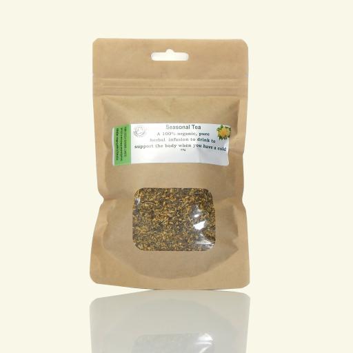 Seasonal Yarrow, Elderflower & Peppermint Tea
