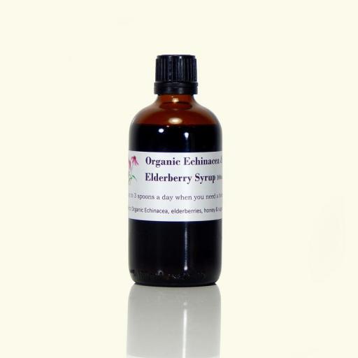 Organic Echinacea & Elderberry Syrup