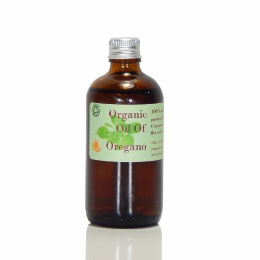 Oregano Oil In Flaxseed Oil (Organic)