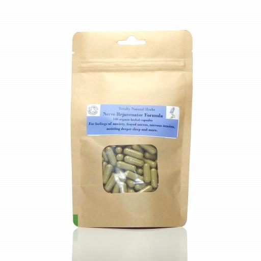 Nerve Rejuvenator Formula (organic, capsules)