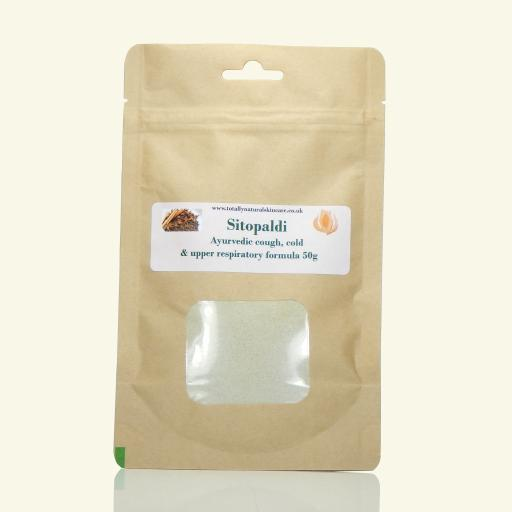 Sitopaladi - Ayurvedic cough, cold & upper respiratory formula