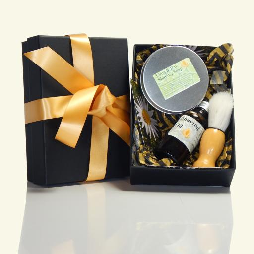 Mens Shaving Gift Box
