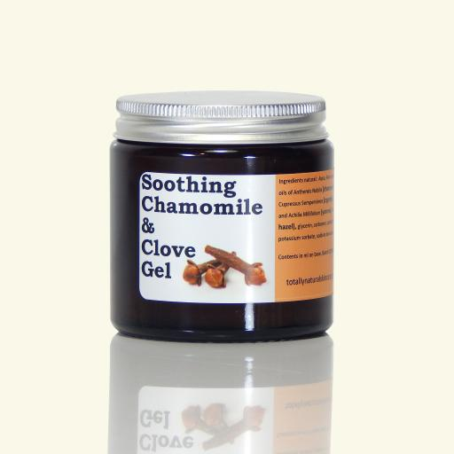 SOOTHING CHAMOMILE & CLOVE GEL WITH CRAMP BARK