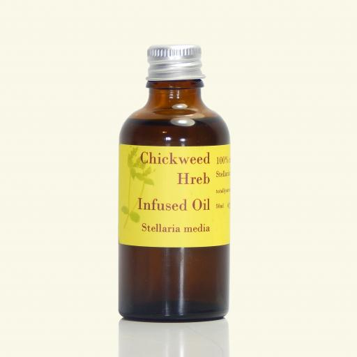 Chickweed Infused Oil