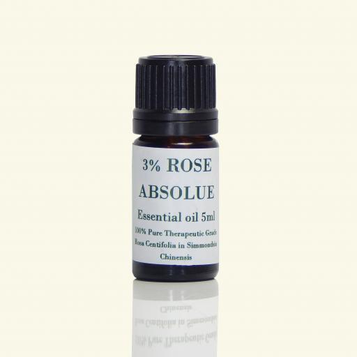 Rose Essential Oil 3% Dilution - Rosa Centifolia