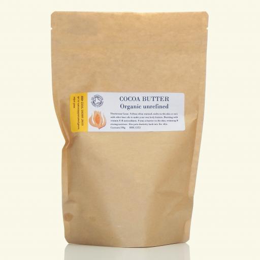 Cocoa Butter (Organic and unrefined)
