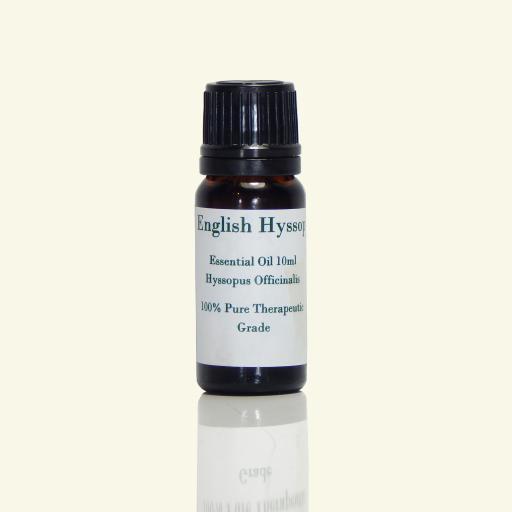Hyssop, English essential oil