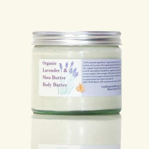 Organic Lavender & Shea Butter Body Butter