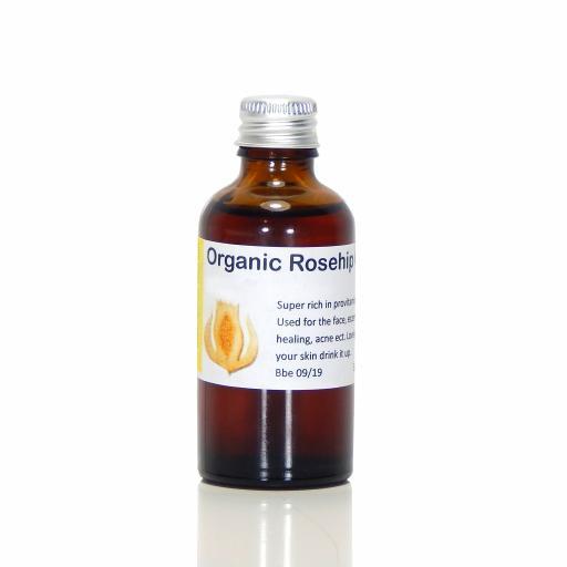 Rosehip Seed Oil (organic)