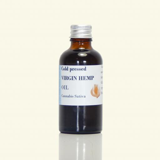Hemp Oil (Virgin, Organic)